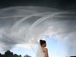 piękna suknia ślubna, z kolekcji JASMINE 2008, USA