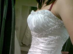 Piękna suknia ślubna z kolekcji Mori Lee 2010