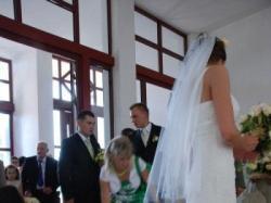Piękna suknia ślubna z Madonny.Stan idealny. Tanio!