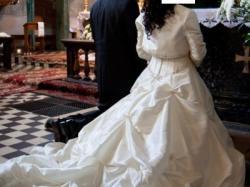 Piękna suknia ślubna z nowymi dodatkami!!!