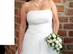 Piękna suknia ślubna z salonu Agnes
