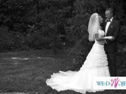 Piękna  suknia ślubna z salonu Biały Raj