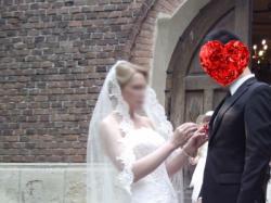 Piękna suknia ślubna z salonu Madonna