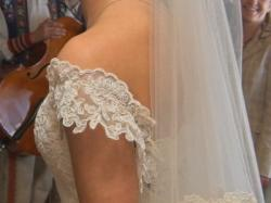 Piękna suknia ślubna z salonu Nabla + gratis