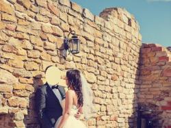 Piękna suknia ślubna z USA - okazja!