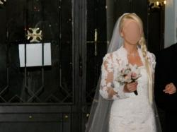 Piękna suknia ślubna z USA - sprzedam