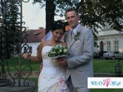 piękna suknia ślubnaŻywiec  r40-42