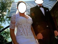 Piękna suknia ślubnia