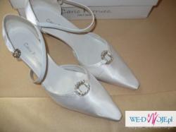PIĘKNA SUKNIA SOTTERO&MIDGLEY + buty (nieużywane) CARLO FERRUCCI