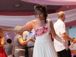 Piękna suknia w stylu greckim