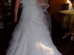 piękna suknia w sylu hiszpańskim dla wykokiej dziewczyny 180-185