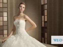 Piękna suknia W1 Triana + okrycie na ramiona