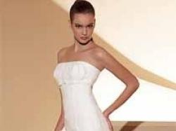 piekna suknia white one model 412
