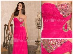 piękna suknia wieczorowa