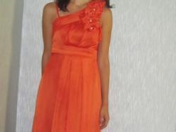 Piękna suknia wieczorowa .! Długa