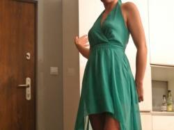 Piękna suknia wieczorowa z USA