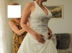 piękna suknia z kolekcji Demetrios model 925 / Lisa Ferrera
