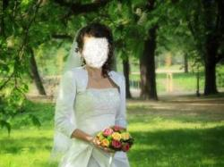 Piękna suknie ślubna rozmiar 38 - 40 TANIO