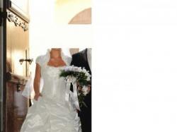 Piękna, tania, modna suknia ślubna rozm.38