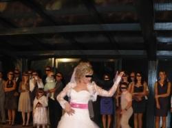 Piękna tiulowa suknia ślubna SPRZEDAM