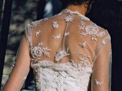 Piękna włoska suknia ślubna Anette