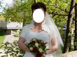 Piękna, wyjątkowa suknia ślubna!