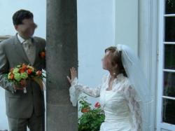 piękne bolerko ślubne