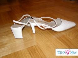 piekne hiszpańskie pantofle skórzane