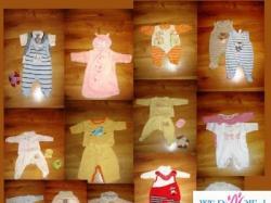 Piekne ubranka dla noworodka