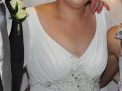 "Pięknia suknia ślubna ""Józefinka"""