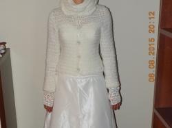 Piękny komplet do sukni ślubnej