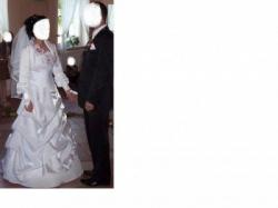 Pilnie  sprzedam  piękną suknie ślubną-WARTO -