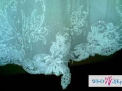 Pilnie tanio sprzedam suknię ślubną ze wszystkimi dodatkami!!!!