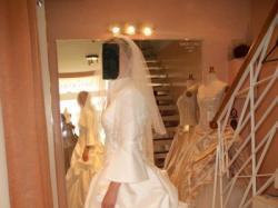 Pkna suknia ślubna Ronald Joyce