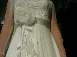 plisowana suknia ślubna tanio!