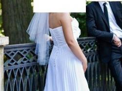 Plisowana suknie  ślubna sweetheart 5928