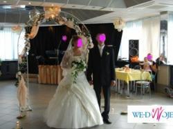 polecam liczną suknię ślubną ecru dwuczęściową