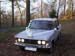 Polskim Fiatem do ślubu