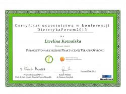 Poradnictwo dietetyczne mgr Ewelina Kowalska