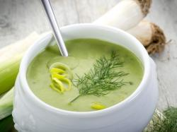Porowo-cebulowa zupa krem