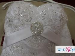 PROMOCJA NOWA Suknia ślubna ANNAIS EMPORIA +gratis