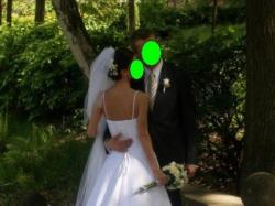 PRONOVIAS! Elegancka suknia ślubna. Rozm. 36/38