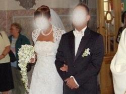 Pronovias NALON 2008 - suknia + bolerko rozm. 36 / 38