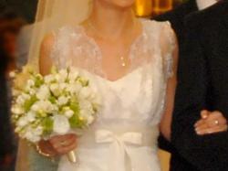 Prosta Romantyczna Suknia Ślubna