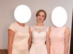 Prosta,skromna rustykalna suknia ślubna [Sprzedam]