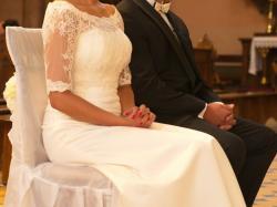 Prosta suknia ślubna Elizabeth Passion