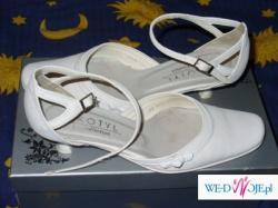 Proste i ładne butki ślubne