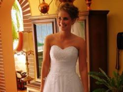 Przecudna suknia ślubna!