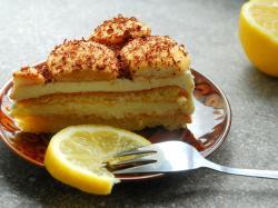Przekładaniec z ciasta francuskiego