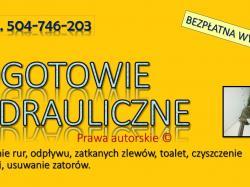 Przepchanie zatkanej toalety, cena , tel. 504-746-203. Pogotowie hydrauliczne.  Częstą przyczyną zatkanej rury od umywalki, wanny, kanalizacji są: nagromadzone tłuszcze, nierozpuszczony papier, małe przedmioty blokujące odpływ, Wrocław,
